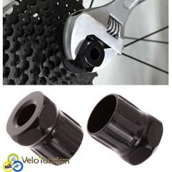 Съёмник (шлицевой ключ) трещотки велосипеда