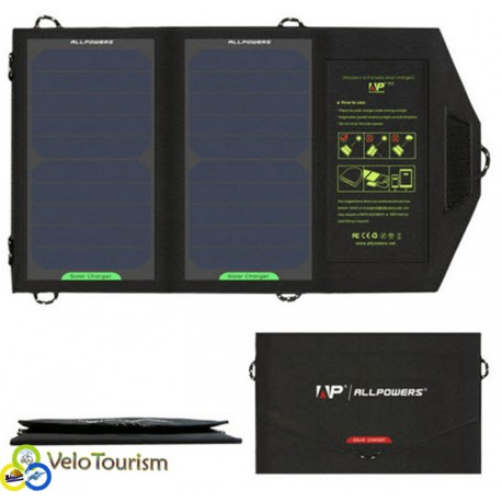 Зарядное устройство на солнечных батареях Allpowers 10 Вт