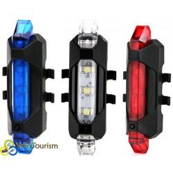 Задний фонарь – веломигалка USB