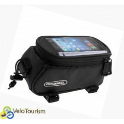 Велосумка на раму Roswheel с карманом под смартфон