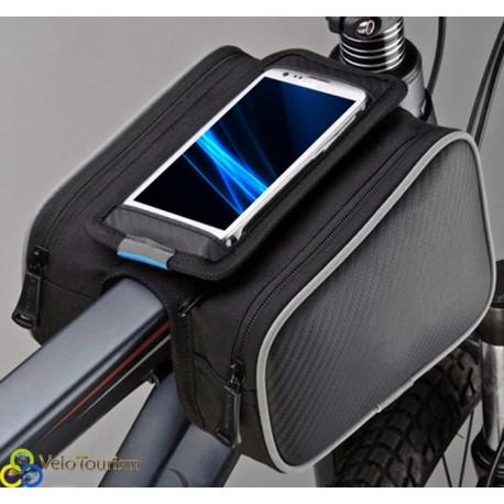 Велосипедная сумка-штаны на раму Roswheel