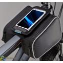 "Велосипедная сумка-штаны на раму под смартфон 4,8"" Roswheel"