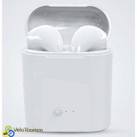 Беспроводные Bluetooth гарнитура I7s (аналог Apple AirPods)