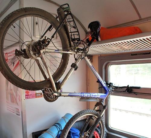 Перевозка велосипеда в электричке